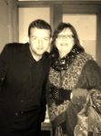 Kevin Bridges and Cathie Devitt
